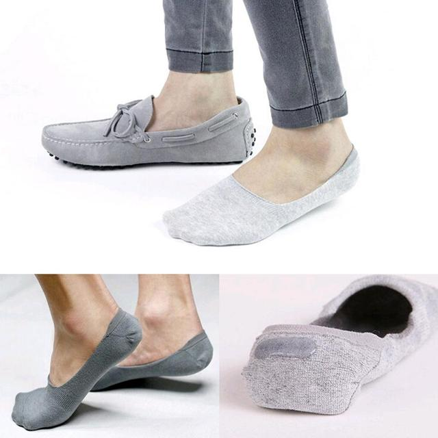 New 4 men color short socks Classic Male 100% bamboo and cotton Invisible Man sock slippers shallow mouth not Ship socks SW7