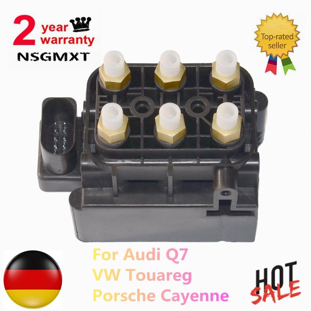 Пневматическая подвеска компрессор электромагнитный клапан блок для Audi Q7 Porsche Cayenne VW Touareg 7L0 698 014, 7L0698014, 7P0698014