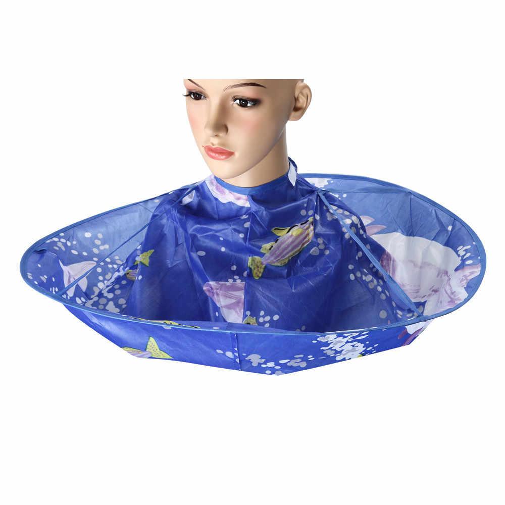 שיער טיפול 1 pc שיער עיוות DIY חיתוך גלימת מטרייה קייפ סלון בארבר סלון בית מעצבים באמצעות 19 Feb19