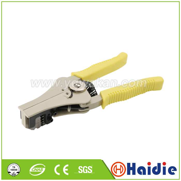 Free shipping 1pcs auto crimping tool crimping plier wire stripping pliers Automatic Wire Stripper Multifunctional tool pliers|Terminals| |  - title=