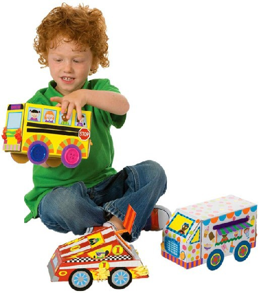 Toddler Educational Toys For Boys : Pcs lot my crafty cars kids toy birthday gift for boys