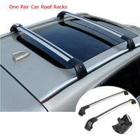2pcs Universal Adjustable Car Roof Rack Cross Bar Crossbars Cargo Luggage Carrier Roof Racks Crossbars For Most Car