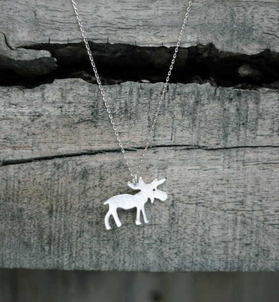 Wholesale new trendy gold silver personalized moose necklace high wholesale new trendy gold silver personalized moose necklace high quality hunger games pendant necklace women best aloadofball Images