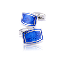 hot deal buy luxury 2018 new shirt cufflinks for mens brand cuff buttons cuff links blue gemelos high quality abotoaduras jewelry wholesale