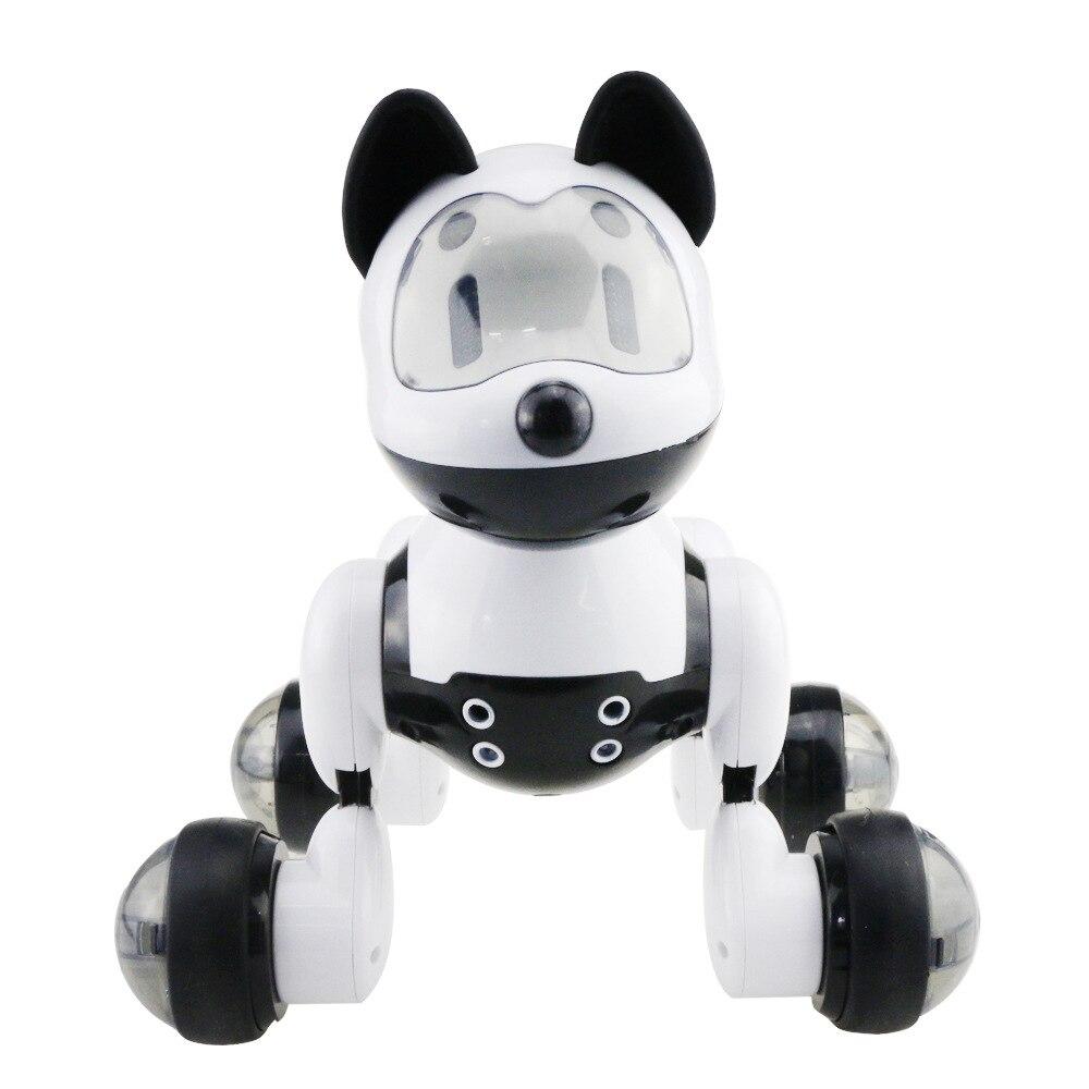 Puzzle robot de contrôle à distance jouet électrique animal de compagnie électronique Chien Enfants vocale Interactive jouets fantaisie Peut Être Fait