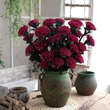 5pcs/lot Artificial Chrysanthemum Fake Flower Wedding Decoration DIY Wreath Gift Box Scrapbooking Craft