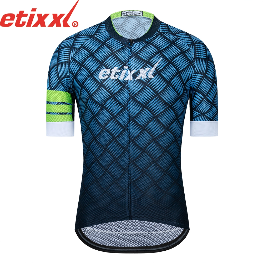 Quick Dry Cycling Jersey Summer Short Sleeve MTB Bike Cycling Clothing Ropa Maillot Ciclismo Racing Bicycle Clothes