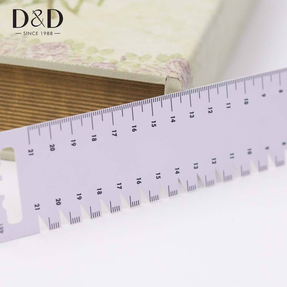 21cm Ultrathin Sewing Patchwork Ruler Quilting Tool DIY Sewing Accessory Te