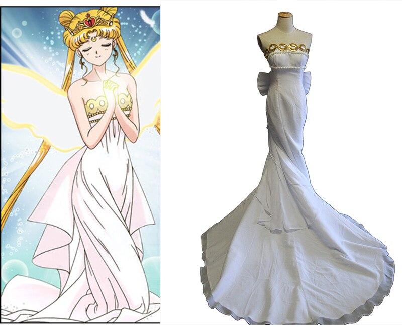 Robe marin lune princesse sérénité Tsukino Usagi robe de Costume Cosplay robe de soirée Lolita