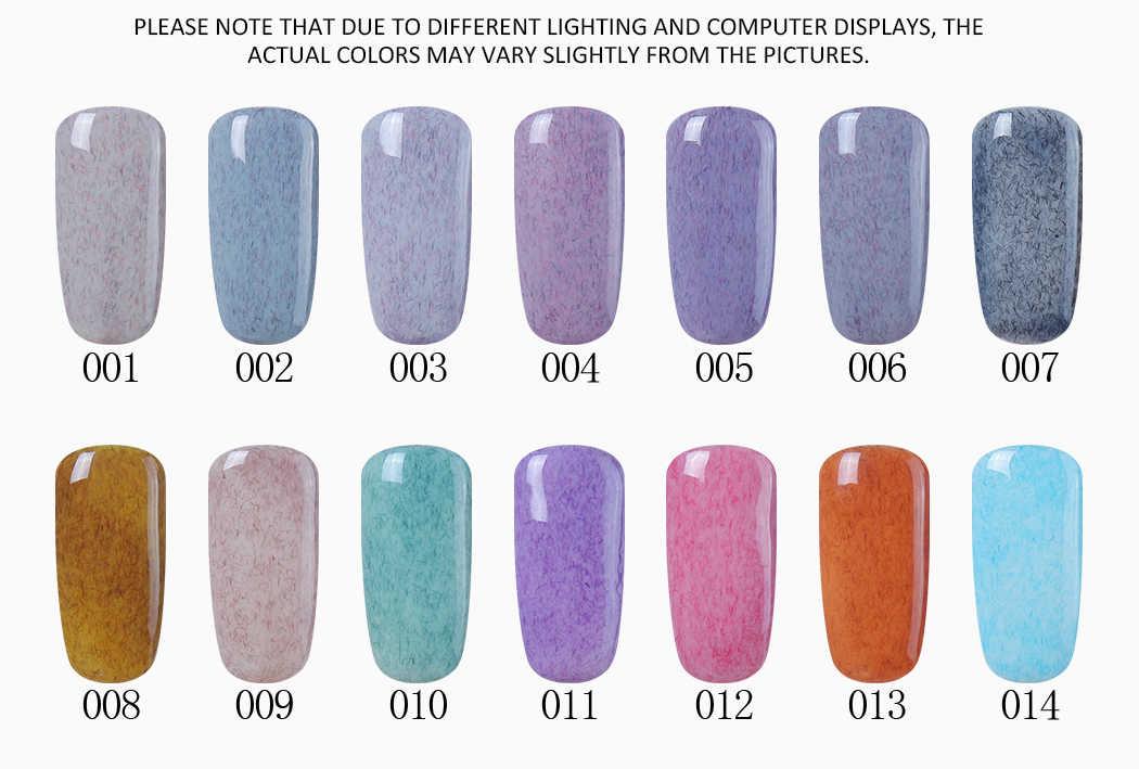 Elite99 ใหม่ Supply Nail Art 7ml Bling PURE สี Supper Diamond Shining Glitter เลื่อม Starry Platinum สีเจล