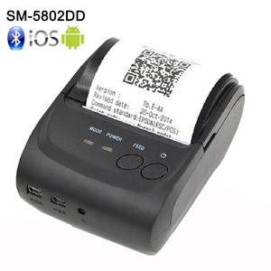58mm Mini Wireless Bluetooth Android Portable Mobile Thermal Receipt Printer USB