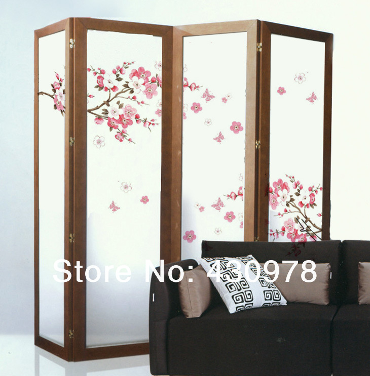 QZ556 Free Shipping 2Pcs Falling Flower Plum Blossom Branch Removable PVC Wall Stickers <font><b>Elegant</b></font> Fancy <font><b>Home</b></font> <font><b>Decoration</b></font> Gift