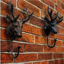 Dofaso big hook new store special wall deer in hooks & rails steel head clearance price coat