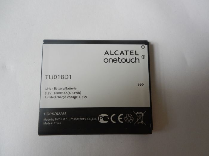 1pcs 100% High Quality TLi018D1 Battery For Alcatel one touch TLi018D1 Mobile phone Freeshipping+Tracking Code