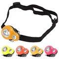High Bright Mini LED Headlamp Headlight 3 Mode Gourd Hat Clip Head Light Lamp + Adjustable Headband + 2 x CR2032 Lithium Battery