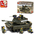 Sluban B6500 tanque de batalla Principal/tanque Pesado 3D Modelo de Bloques de Construcción de Ladrillos De Plástico de Construcción