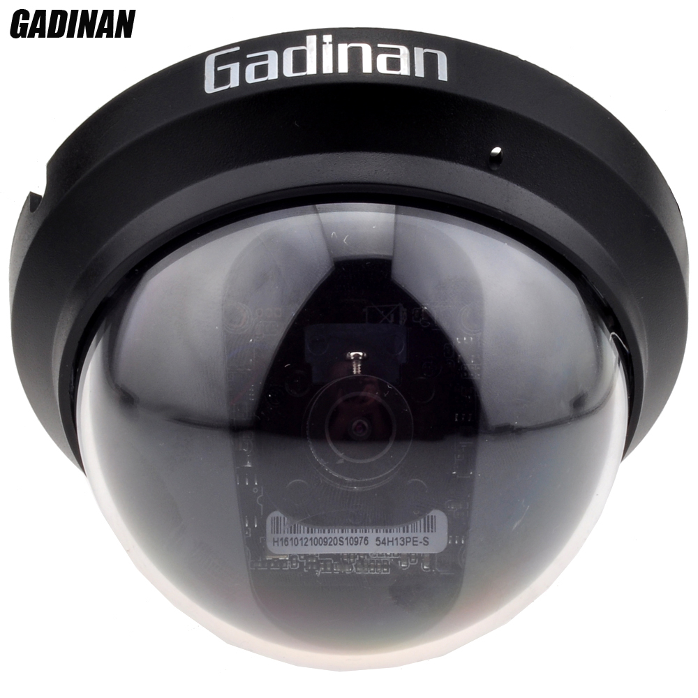 GADINAN 1.3MP SONY IMX225/2MP SONY IMX291 0.0001Lux Intérieur Anti-violence Anti-Vandalisme ABS Mini Dôme AHD CCTV Caméra Full HD