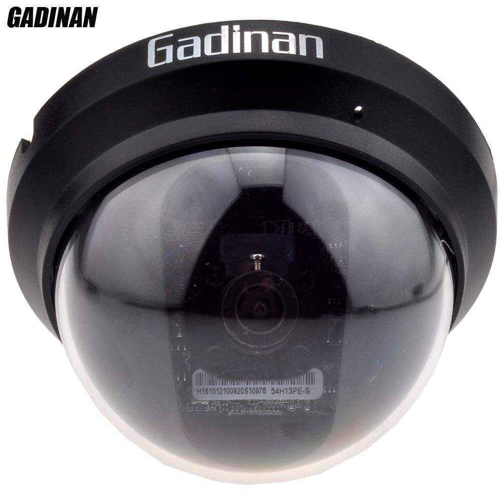 bilder für Gadinan 1.3mp sony imx225/2mp sony imx291 0.0001lux indoor anti-gewalt vandalensichere abs mini dome ahd cctv-kamera full hd