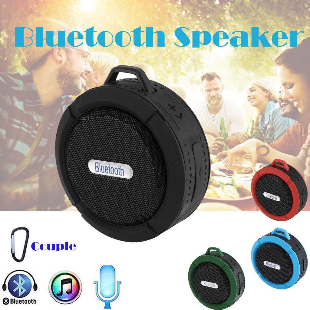 Bluetooth Speaker Outdoor HIFI Portable Wireless Bluetooth Speaker Stereo Sound Bar TF Subwoofer Column Speakers With Hand Strap-in Portable Speakers from Consumer Electronics