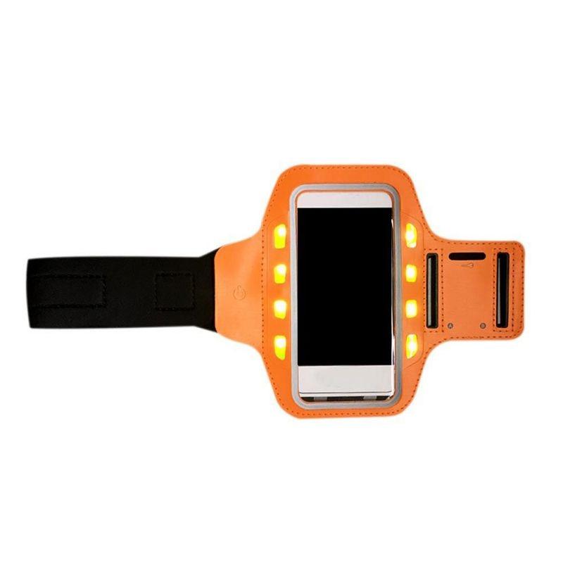 Mobile LED font b Gym b font Arm Band Unisex font b Running b font Bag