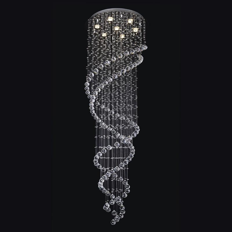 91390/7 Modern Luxury LED Crystal Chandelier Bedroom Bedroom Hotel Hall Corridor Hallway Entrance Bar Balcony LED Lamp