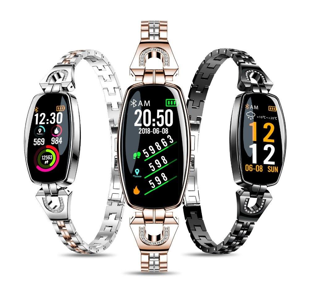 H8 smartwatch ECG female activity tracker heart rate monitor IP67 waterproof smart braceletH8 smartwatch ECG female activity tracker heart rate monitor IP67 waterproof smart bracelet