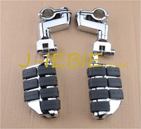Chrome Front Foot Rest Foot Pegs For Honda GOLDWING GL1500 GL1100 GL1200