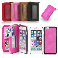 6 6s Wallet Bag Luxury Women Phone Bag Leather Case For IPhone 5 5s Se 6