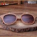 RoShari Старинные деревянные мужчины Солнцезащитные Очки Женщины Марка Дизайнер Ретро Коричневый рамка и коричневые линзы солнцезащитные очки мужчины UV400 óculos де sol