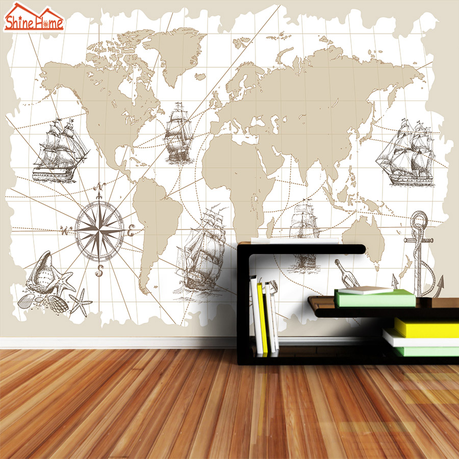 US $11.04 54% OFF|ShineHome Large Custom Photo Wallpapers for 3 d Living on nautical charts map, vintage nautical wallpaper, nautical fabric by the yard, zodiac chart wallpaper, antique nautical wallpaper, nautical charts online, nautical computer wallpaper, nautical charts florida, nautical design wallpaper, nautical stripe wallpaper, nautical compass, nautical knot wallpaper, victoria secret striped wallpaper, nautical charts boston, nautical wallpaper murals, nautical charts gulf of mexico, world map wallpaper, lighthouse wallpaper, nautical charts maine, ralph lauren nautical wallpaper,