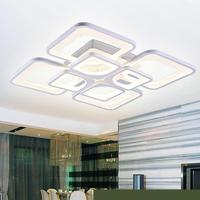 110v 220v Led Ceiling Light Lustre Led Ceiling Light Luz De Techo Moderna Lamparas De Techo Aydinlatma Plafonnier Lampen Sala 16