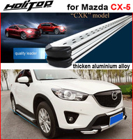 HOT side step nerf bar running board for Mazda CX 5 2012 2017,CXK genuine,stand 300kg thicken aluminium alloy,ISO9001 quality