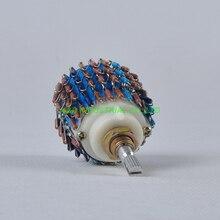 1pc 4Pole 24Step DALE 4channel 4Way Attenuator Volume Pot 100K Fr Tube Amplifier