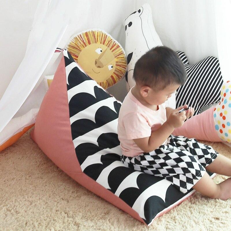 Детские ленивый диван Bean Bag кровать младенцев с момента рождения вашего ребенка удобно сидят или лежащего младенца стул лентяй
