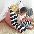 Sofá Preguiçoso Saco De Feijão do bebê Cama Bebês Desde O Nascimento Do Seu Bebê Confortável Sentado ou Reclináveis cadeira de bebé Lazybones