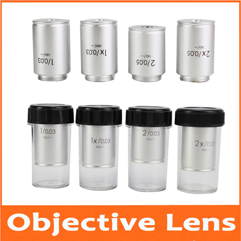 1X 2X Infinity 195 Lab Educational Biological Microscope Achromatic Objective Lens Optical Lens with Standard RMS Thread 20.2mm1X 2X Infinity 195 Lab Educational Biological Microscope Achromatic Objective Lens Optical Lens with Standard RMS Thread 20.2mm