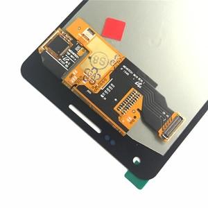 Image 5 - لسامسونج غالاكسي A5 2015 A500 A500F A500FU A500H A500M LCD مجموعة رقمنة اللمس جديد استبدال أجزاء شاشات LCD