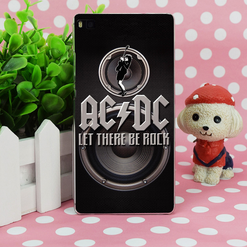 B0065 Ac Dc Let There Be Rock Dvd Transparent Hard Thin Case Skin Cover For Huawei P 6 7 8 9 Lite Plus Honor 6 7 4C 4X G7