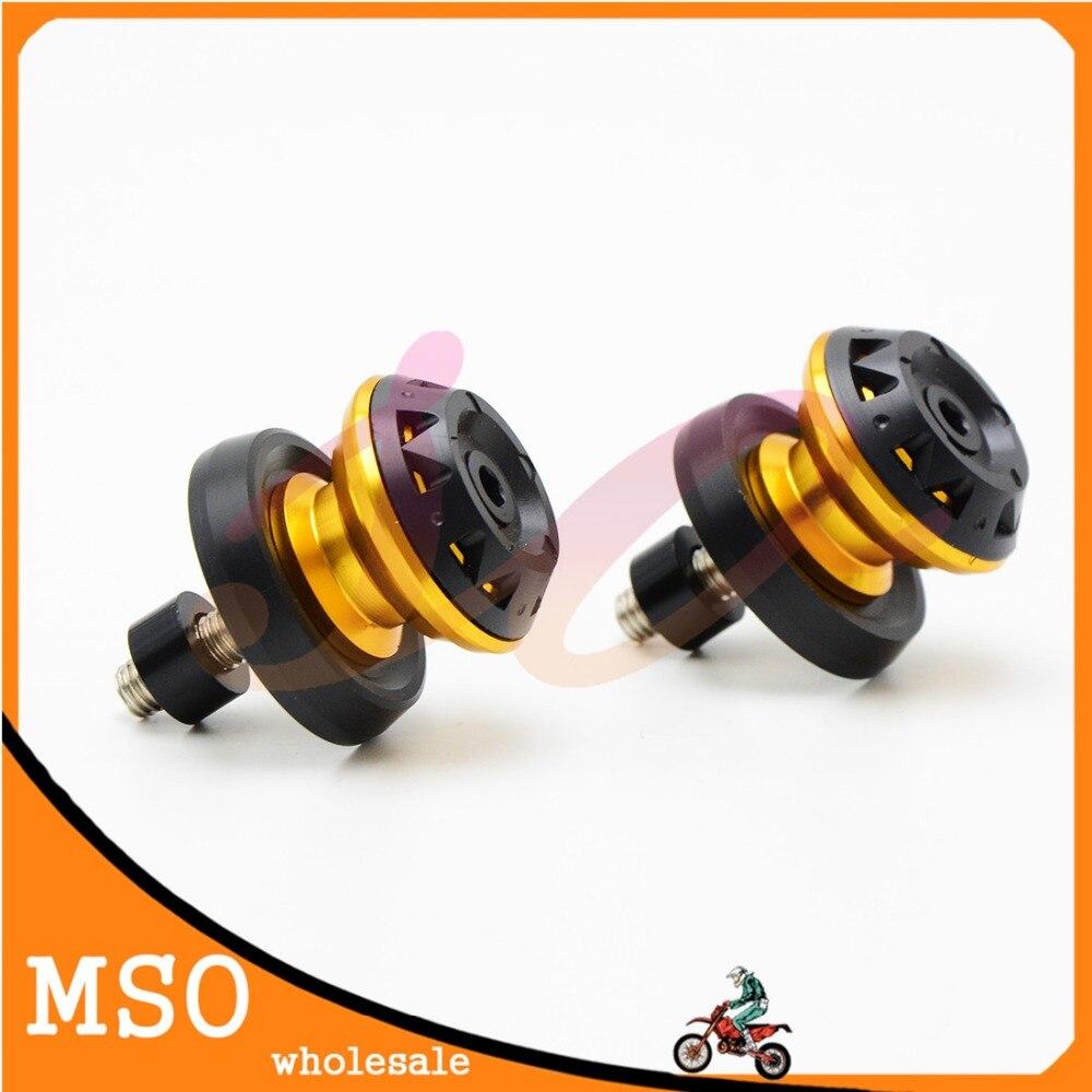 6MM 8MM 10MM Motorcycle Swingarm Spools Sliders For Honda ST1300 ST 1300A VTR1000F VTX1300 CBX1000