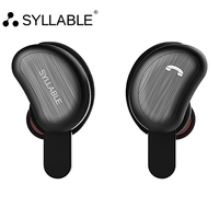 SYLLABLE D9 TWS Bluetooth Earphone True Wireless Stereo In Ear Earbud Waterproof Headset For Phone HD