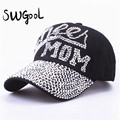 SWGOOL Baseball Caps 2016 new top fashion Rhinestones Jean hat Denim Cap Snapback summer Hats hip hop Wholesale free shipping