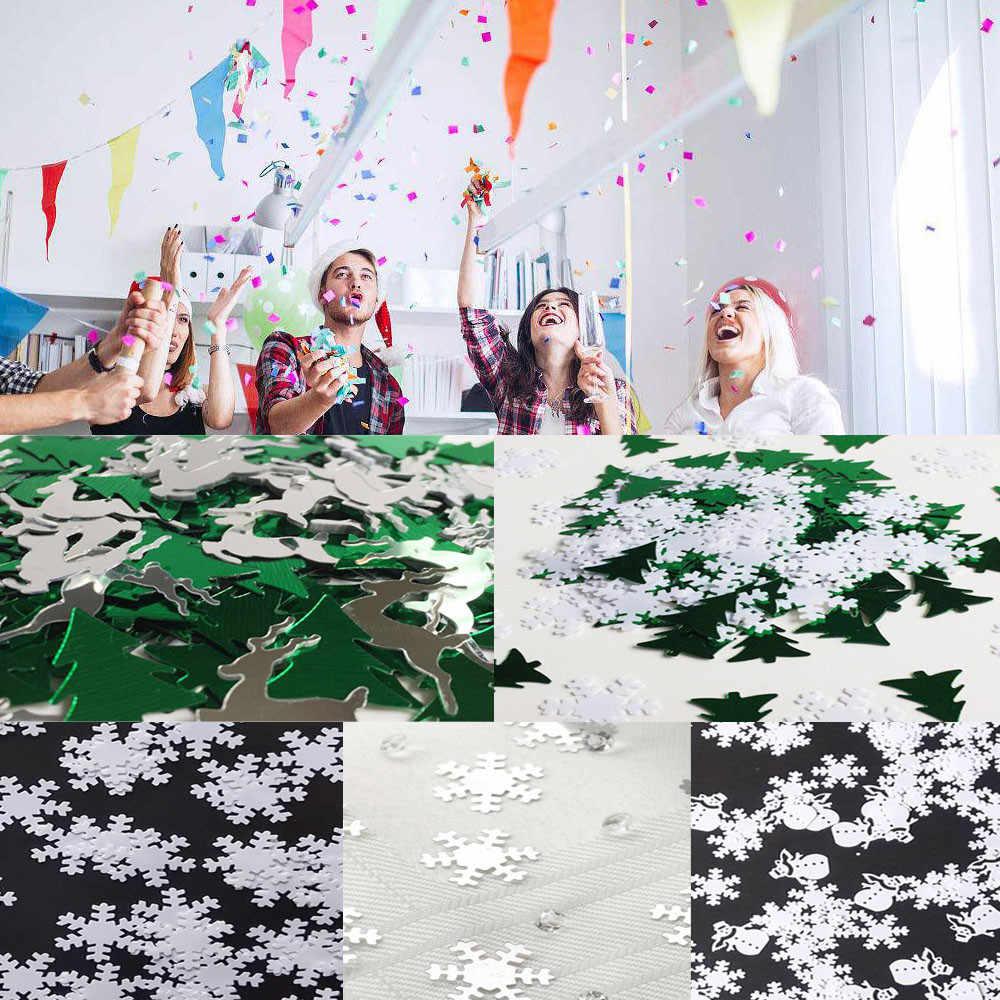 15/30 грамм Рождественская декоративная жестяная фольга с блестками для свадебного стола для вечеринки рождественские украшения хороший дизайн рождественские украшения