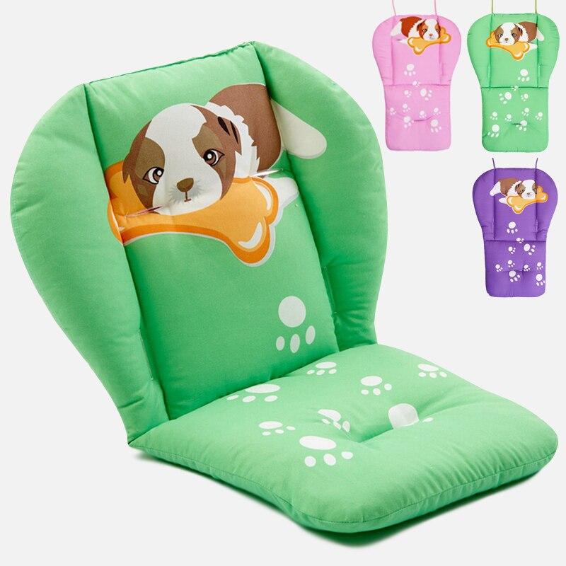 Cartoon Cotton Stroller Liner Seat Cushion, Pram Pad, Baby Chair/Car Seat Pads Stroller Accessories Chair Cushion