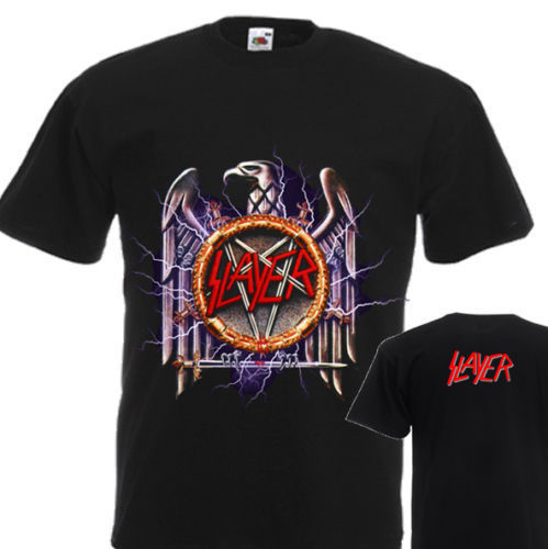 NEW T-SHIRT SOUNDTRACK TO THE APOCALYPSE BY SLAYER DTG PRINTED TEE-S- 6XL ...