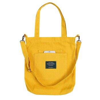 ccdb67f49010 Большой Ёмкость большая сумка из плотной ткани хлопчатобумажная ткань,  одежда многоразовая женская сумка-шоппер пляжные сумки для покупок .