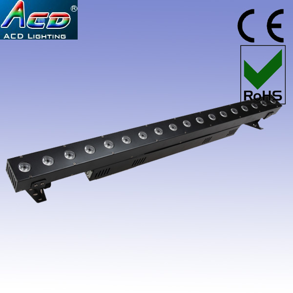 все цены на wholesale china factory cheaper price RGBW 18*10W 4IN1 liner led stage effect bar dj disco light онлайн