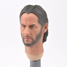 1/6 Scale Keanu Reeves Man Head Toy The Killer John Wick Sculpt F 12 HT Body