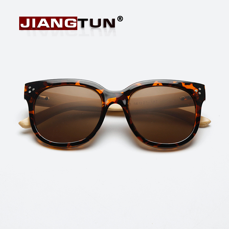 4df659d57d JIANGTUN New Fashion Wooden Sunglasses Handmade Bamboo Sun Glasses Men  Women Oculos De Sol Gafas 2017 New UV400