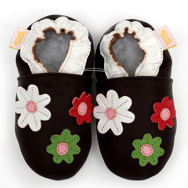 Baby Kids Shoes Girl Leatner Baby Shoes Moccasins Baby Girl First Walker Flower Toddler Shoes Non-slip Infant Shoes Baby Slipper