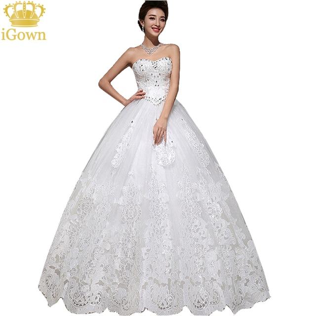 yayiku luxury crystal sweetheart off the shoulder wedding dresses